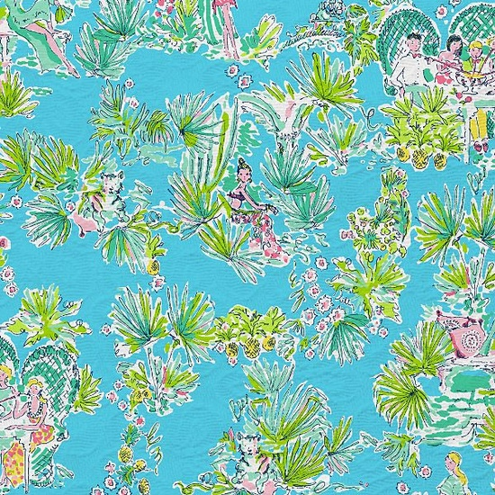 Lilly Resort 2012 Jungle Glam Toile