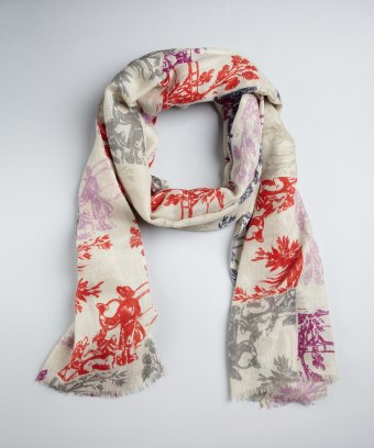 Toile scarf