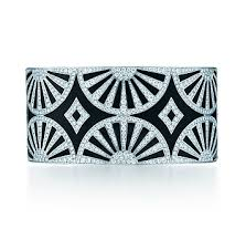 Deco fan bangle